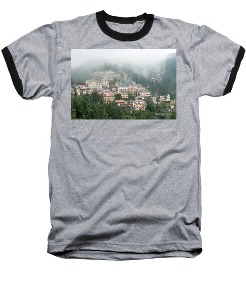 Maleod Ganj Of Dharamsala Baseball T-Shirt by Yew Kwang
