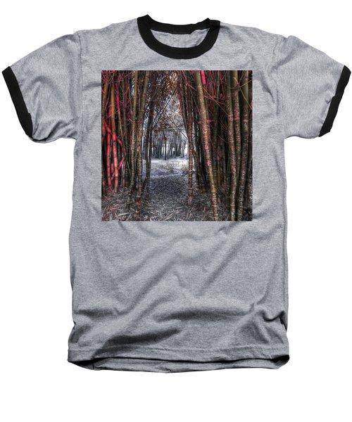 Malice In Wonderland Baseball T-Shirt