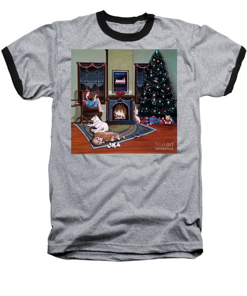 Mallory Christmas Baseball T-Shirt