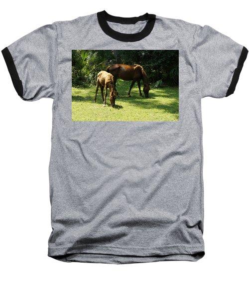 Mama And Baby Baseball T-Shirt