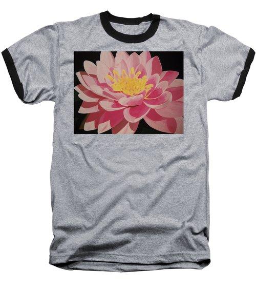 Mama's Lovely Lotus Baseball T-Shirt