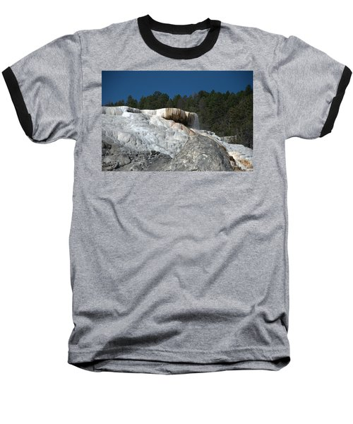 Mammoth Hot Springs 1 Baseball T-Shirt