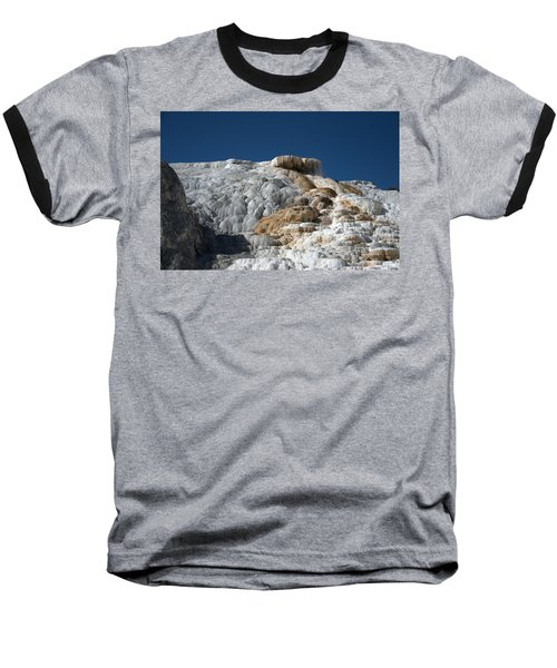 Mammoth Hot Springs 2 Baseball T-Shirt