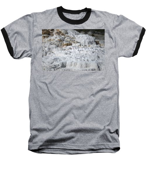Mammoth Hotsprings 3 Baseball T-Shirt