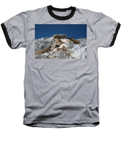 Mammoth Hotsprings 4 Baseball T-Shirt
