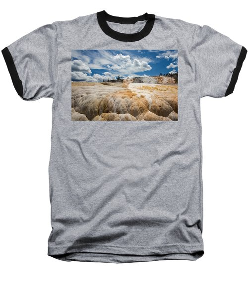 Mammouth Terraces Baseball T-Shirt