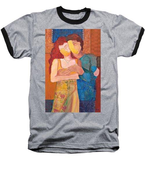 Man And Woman Baseball T-Shirt
