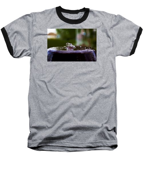 Baseball T-Shirt featuring the photograph Man On The Surface by Mez