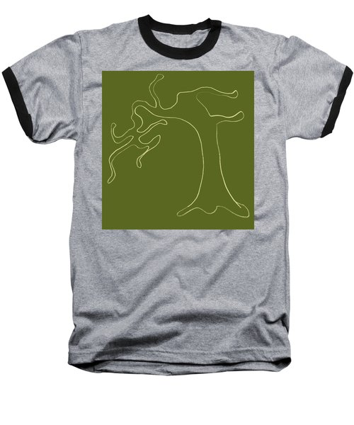 Man Versus Nature Baseball T-Shirt