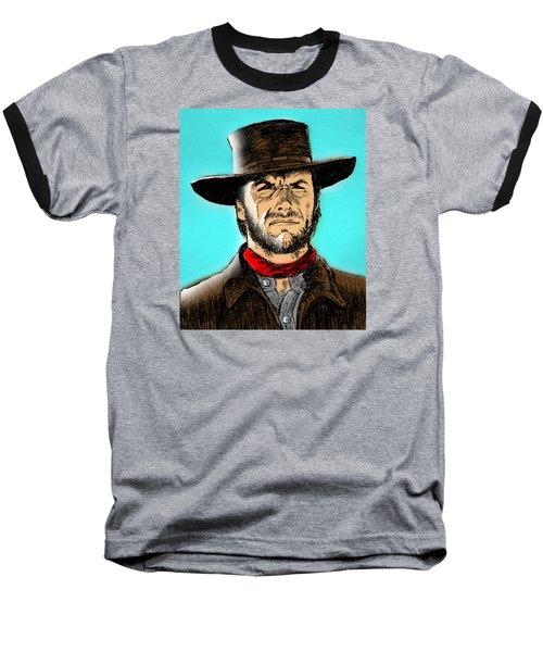 Clint Eastwood Baseball T-Shirt by Salman Ravish