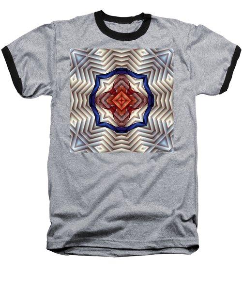 Baseball T-Shirt featuring the digital art Mandala 11 by Terry Reynoldson