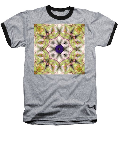 Baseball T-Shirt featuring the digital art Mandala 127 by Terry Reynoldson