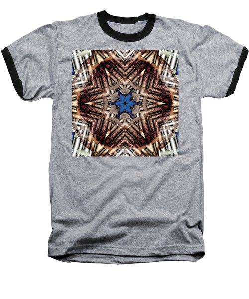 Baseball T-Shirt featuring the digital art Mandala 13 by Terry Reynoldson