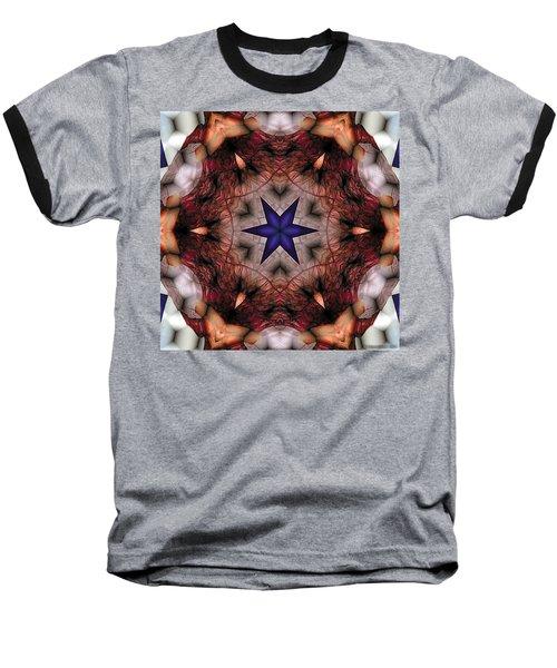 Baseball T-Shirt featuring the digital art Mandala 14 by Terry Reynoldson