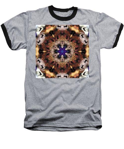 Baseball T-Shirt featuring the digital art Mandala 16 by Terry Reynoldson
