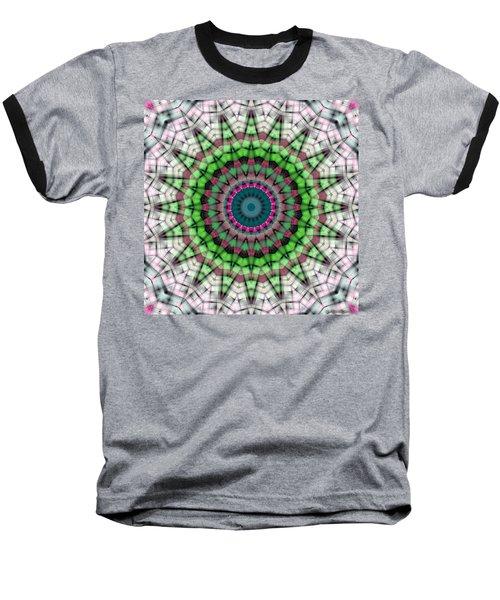 Baseball T-Shirt featuring the digital art Mandala 26 by Terry Reynoldson