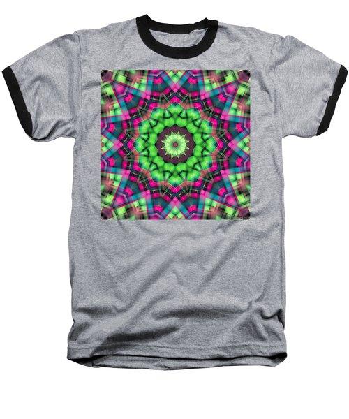 Baseball T-Shirt featuring the digital art Mandala 29 by Terry Reynoldson