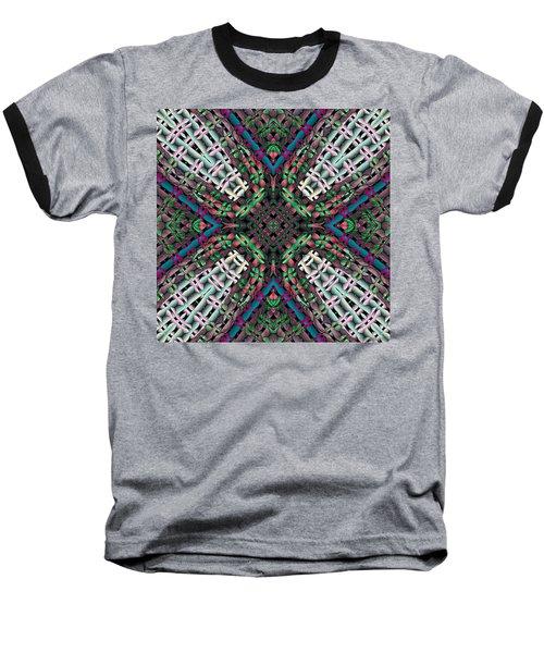 Baseball T-Shirt featuring the digital art Mandala 32 by Terry Reynoldson
