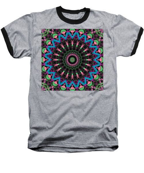 Baseball T-Shirt featuring the digital art Mandala 35 by Terry Reynoldson
