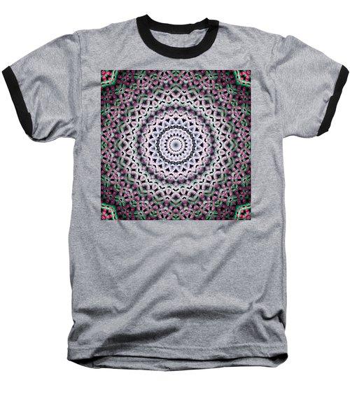 Baseball T-Shirt featuring the digital art Mandala 38 by Terry Reynoldson