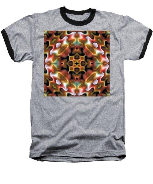 Baseball T-Shirt featuring the digital art Mandala 76 by Terry Reynoldson