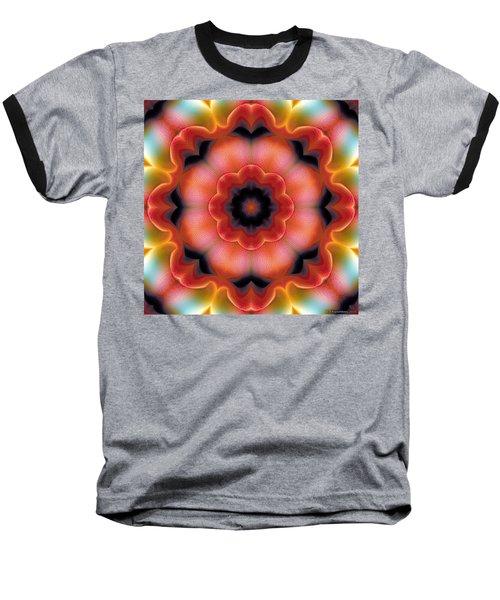 Baseball T-Shirt featuring the digital art Mandala 91 by Terry Reynoldson