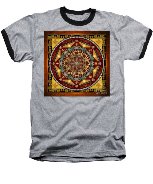 Mandala Oriental Bliss Baseball T-Shirt