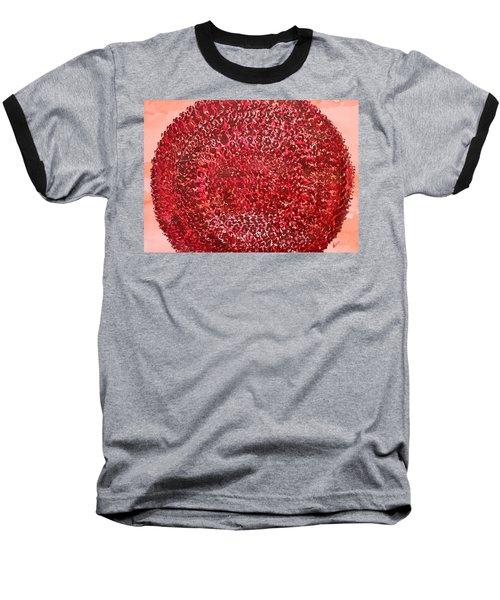 Mandala Sun Original Painting Baseball T-Shirt