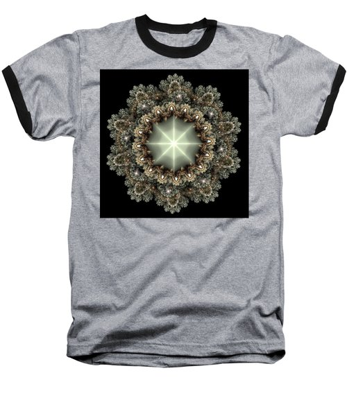 Baseball T-Shirt featuring the digital art Mandala by Svetlana Nikolova