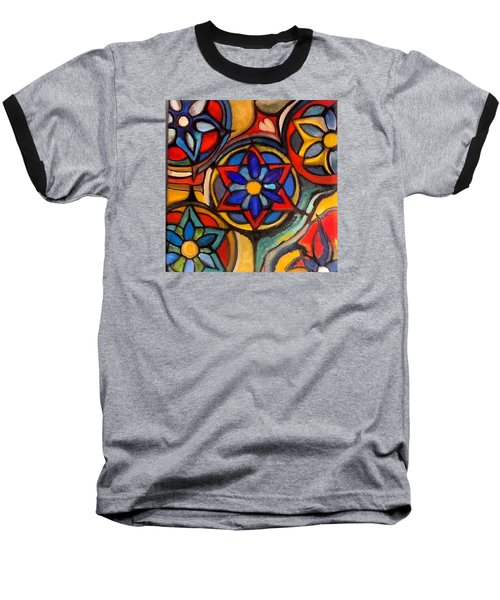 Mandalas Vintage Baseball T-Shirt
