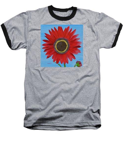 Mandy's Burgundy Beauty Baseball T-Shirt