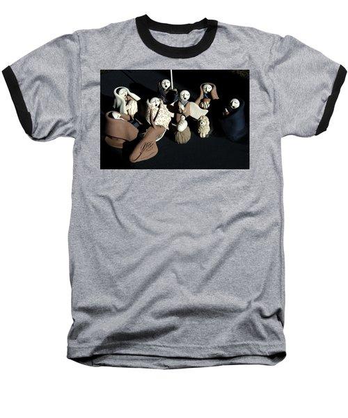 Manger Baseball T-Shirt by Ron White