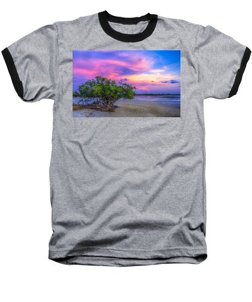 Mangrove By The Bay Baseball T-Shirt