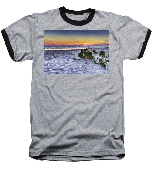 Mangrove On The Beach Baseball T-Shirt