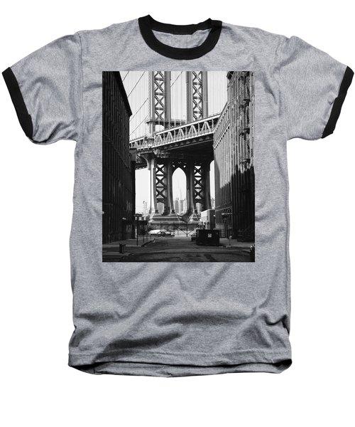 Manhattan Bridge Baseball T-Shirt
