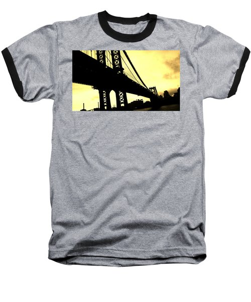 Manhattan Bridge Baseball T-Shirt