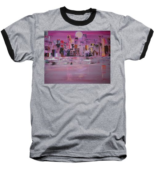 Manhattan Moonshine Baseball T-Shirt