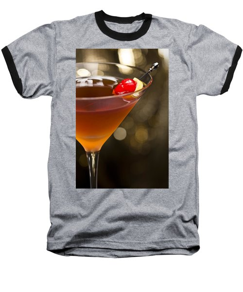 Manhattan  Baseball T-Shirt by Ulrich Schade
