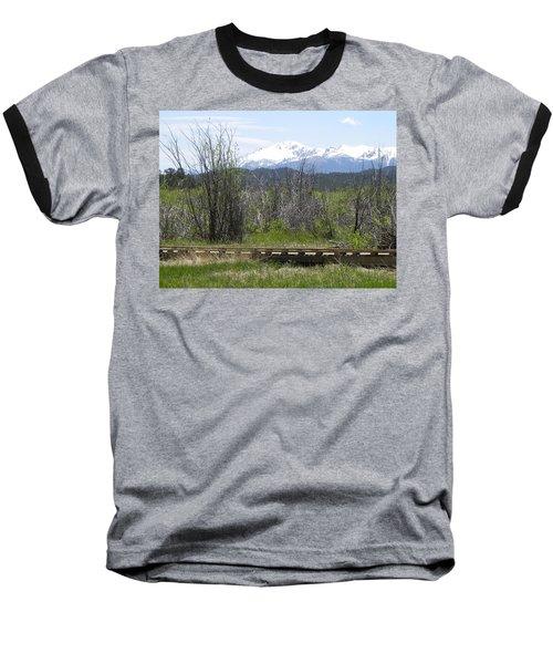 Lake Manitou Sp Woodland Park Co Baseball T-Shirt