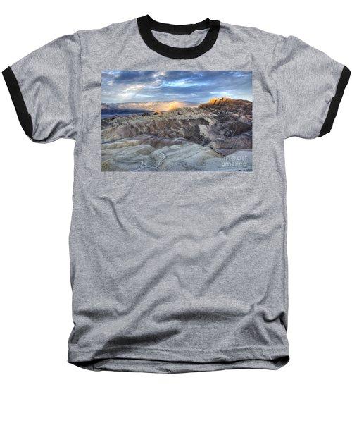 Manly Beacon Baseball T-Shirt by Juli Scalzi