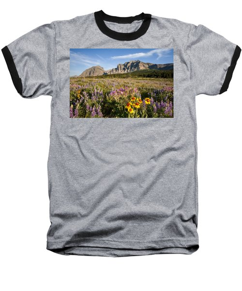 Baseball T-Shirt featuring the photograph Many Glacier Spring by Jack Bell