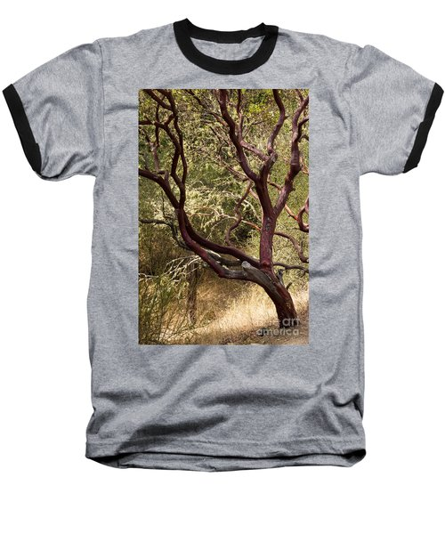 Manzanita Tree Baseball T-Shirt