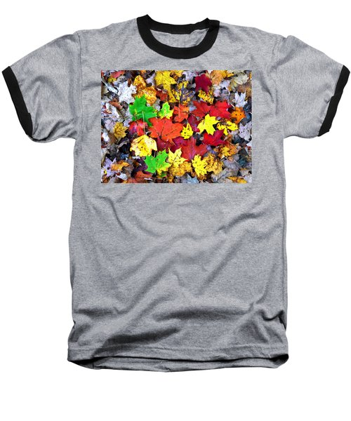 Baseball T-Shirt featuring the photograph Maple Carpet by Jackie Carpenter