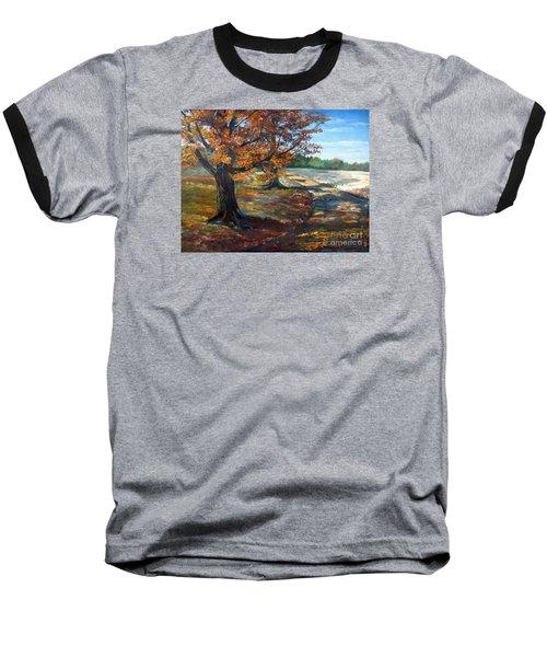 Maple Lane Baseball T-Shirt by Lee Piper