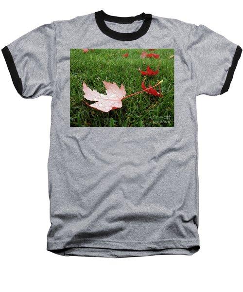 Maple Leaf In Canada Baseball T-Shirt