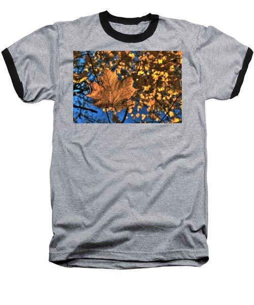 Maple Leaf Still Standing Baseball T-Shirt