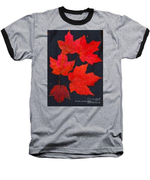 Maple Leaf Tag Baseball T-Shirt