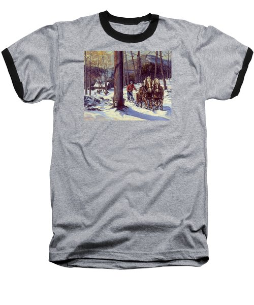 Maple Sugar Time Baseball T-Shirt