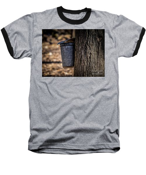 Maple Syrup Time Collecting Sap Baseball T-Shirt