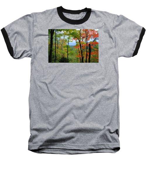 Maples Against Lake Superior - Tettegouche State Park Baseball T-Shirt